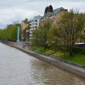 Västra åstranden i Åbo