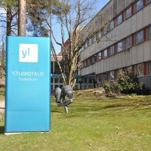 Studiohuset i Böle fotograferat utifrån.