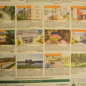 bostadsförmedlares tidningsannons