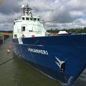 Fartyget Pohjanmeri.