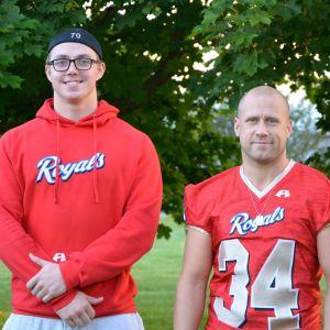 Eric Blomgren och Joakim Jakobsson i Wasa Royals.