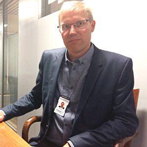 Ismo Kurri, vd för rekryteringsbolaget Uranus