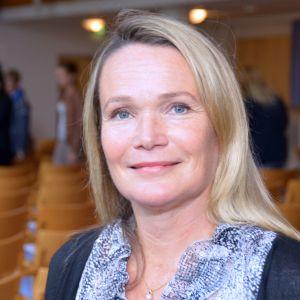 Mirjam Kalland i Seminarieskolan i Ekenäs.