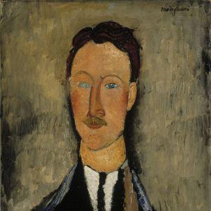 Amedeo Modigliani: Porträtt av konstnären Léopold Survage