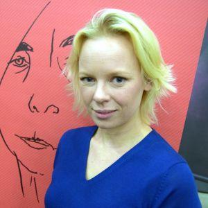 Skådespelaren Alma Pöysti