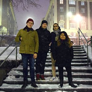 En grupp invandrare som har integrerat sig på svenska i Finland grundar föreningen svenska.fi.