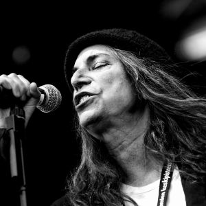 Patti Smith i Provinssirock 2007.
