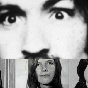Foton på Charles Manson, Susan Atkins, Leslie Van Houten