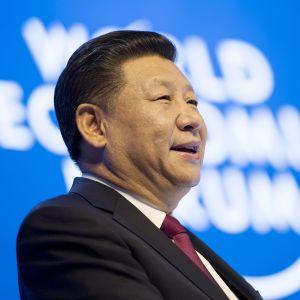 Xi Jinping i Davos.