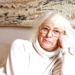 Skådespelaren Birgitta Ulfsson