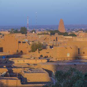 Agadez är migranternas sista stopp innan de försöker korsa Sahara på väg mot Libyen eller Algeriet.