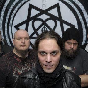 Finska rockbandet HIM.