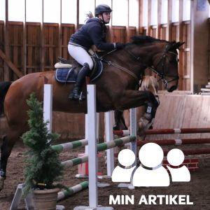 Neele Knaapinen med hästen Loverass