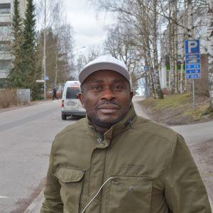Lawrence på Kirstibacken.