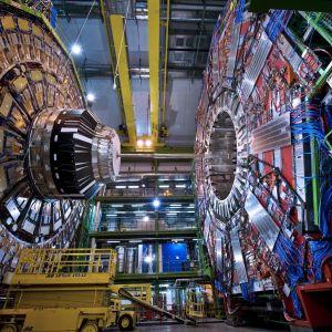 Detektorn CMS i Large Hadron Collider.