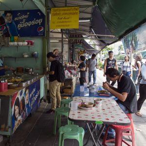 Matstånd i Bangkok