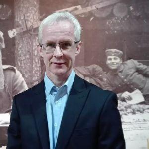 Forskaren Tuomas Hoppu från Tammerfors universitet.