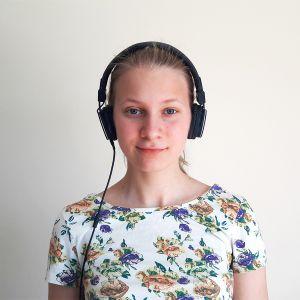 Emmy Wikström från Tölö gymnasium.