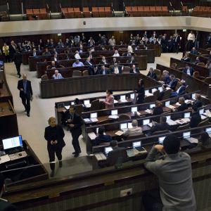 Det israeliska parlamentet Knesset