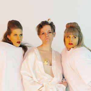 Joanna Wingren, Klara Wenner Tångring och Sonja Ahlfors.