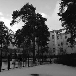Kuppis sjukhus i Åbo.
