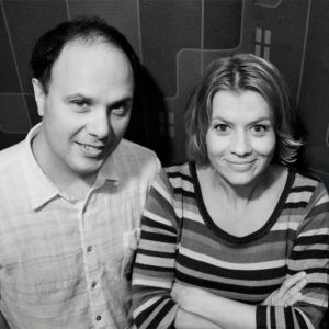 Eftersnacks Magnus Londen och Jeanette Björkqvist