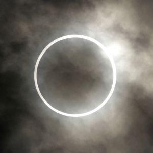 Solförmörkelse i Tokyo 21.5.2012