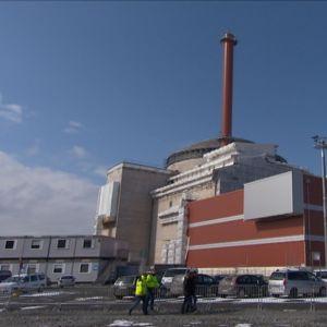 Olkuluoto 3.n toinen reaktori rakenteilla.