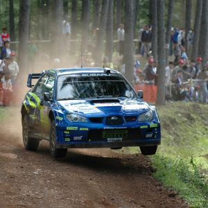 Subarun ralliauto