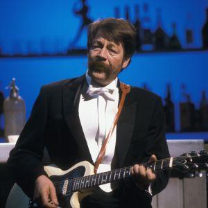 Irwin Goodman Yle TV 2:n studiolla 1988.