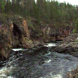 Koski Kuusamon seudulla