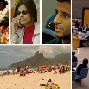 Kollaasi kuvakaappauksista Ulkolinja: Rikkaat köyhät -ohjelmasta
