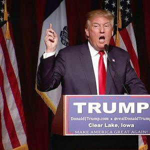 Donald Trumpin kampanja republikaanien presidenttiehdokkaaksi on ollut historian värikkäin. yle tv1