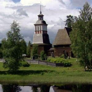 Petäjäveden vanha kirkko ohjelmassa Pallo Hallussa (2006)