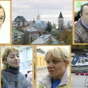 Venäläisiä Lappeenrannassa