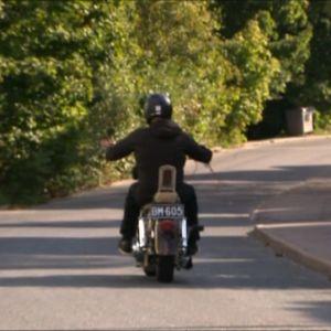 Kuvassa Harley Davidson.