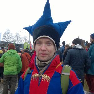 Saamekäräjien jäsen Jan Saijets.