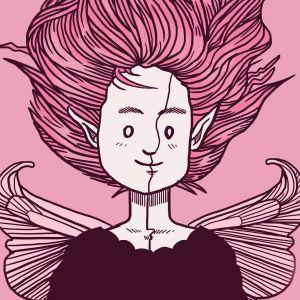 takkutukkakeiju-näytelmä, F.A.Q-teatteriryhmä, juliste, transsukupuolisuus