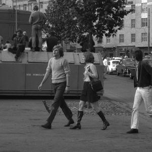 Melasniemet Eero ja Pertti esittävät kesyttömiä veljeksiä, Tarja Markus toisen tyttöystävää.