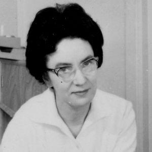 Toimittaja Eila Tarvanen vuonna 1962.