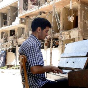 Pianisti Ayham Ahmad