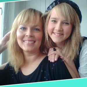 Mansikkka ja Mamma Pia.