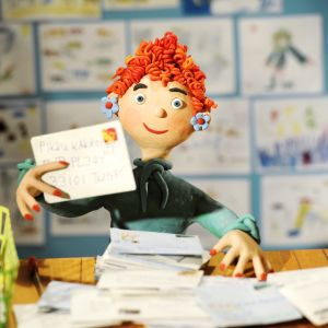 Pikku Kakkosen postin animoitu postineiti