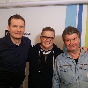 Jami Liukkonen, Mikko Harjunpää ja Tero Liete Levylautakunnassa