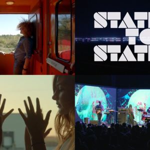Kuvakooste Doug Aitkenin elokuvasta Station to Station.