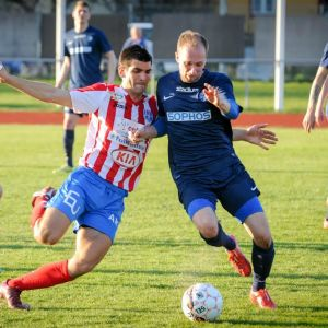 BK:s Mitchell Lopez gjorde två mål mot FC Espoo.