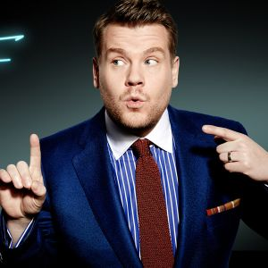 The Late Late Show with James Cordenin vetäjä James Corden.