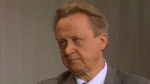 Yleisradion pääjohtaja Sakari Kiuru 1984