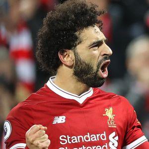 Mohamed Salah firar i Liverpool.