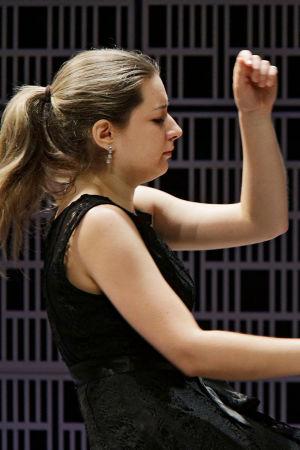 Kanadalaispianisti Isabelle David.